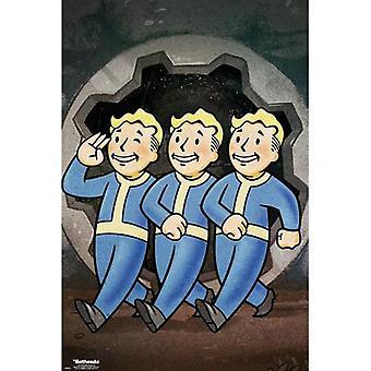 Fallout Poster Vault Boys 154