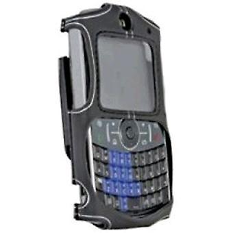 WirelessXGroup Skins Case with Swivel Belt Clip for Motorola Q 9h (Platinum)