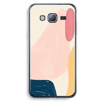 Samsung Galaxy J3 (2016) Transparent Case (Soft) - Saturday Flow