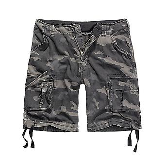 Francis HANNA men's cargo shorts Darkcamo