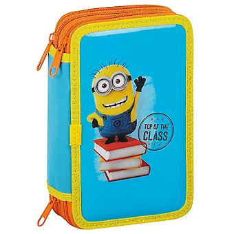 Minions 36 piece pencil boxes Triple Skolset stationery sets
