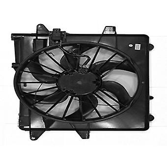 APDI 6018323 Dual Radiator and Condenser Fan Assembly