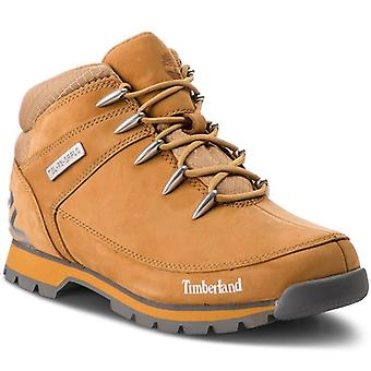 Timberland mens real leather boots euro Sprint hiker Brown