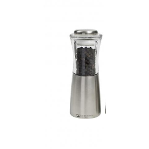 Apollo Pepper Mill Stainless Steel and Acrylic 11717