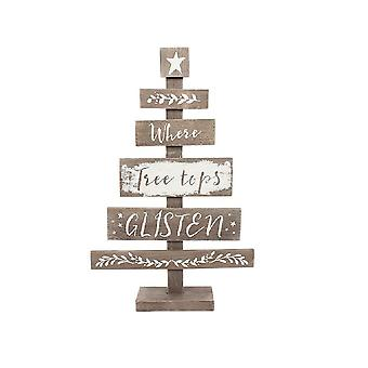 Something Different Wooden Christmas Tree