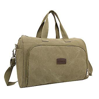 Weekender bag or Holdall in linen, 43x28x22 cm