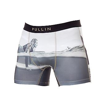 Pull-In Black-White-Sand Elle Boxer Shorts