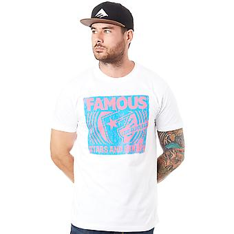 Famous Stars and Straps White Loud and Clear T-Shirt