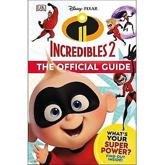 Disney Pixar Superhjältarna 2 officiella Guide