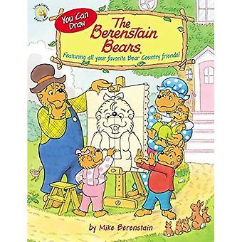 Du kan rita Berenstain Bears: Med alla dina favorit bära land vänner! (Berenstain Bears/levande ljus)
