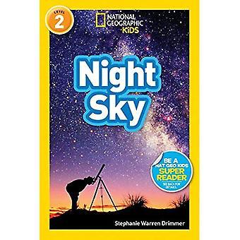 Lectores de geográficos nacionales: Cielo de la noche (los lectores geográficos nacionales - nivel 2)