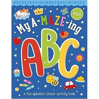 My a-Maze-Ing ABC Sticker Activity Book