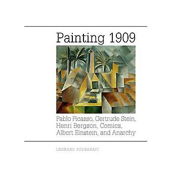 Painting 1909 - Pablo Picasso - Gertrude Stein - Henri Bergson - Comic
