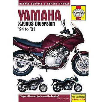 Yamaha XJ900 Diversion Service and Repair Manual - 9780857339041 Book