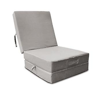 Water Resistant Fold Out Z Bed Cube - Silver