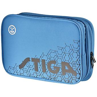 Stiga Reverse Double Wallet Table Tennis Bag Blue/Black