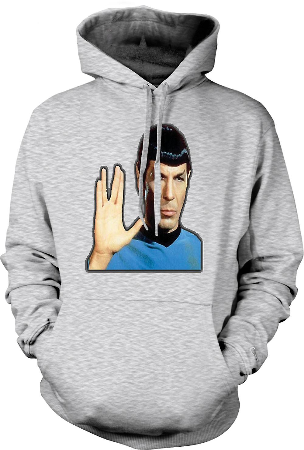 Mens Hoodie - Mr Spock - Star Trek