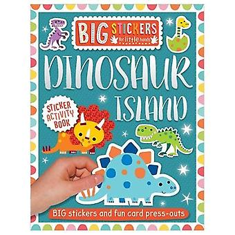 Big Stickers for Little Hands - Dinosaur Island by Big Stickers for Li