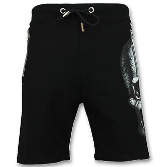 Men's short trousers-Shorts-Black