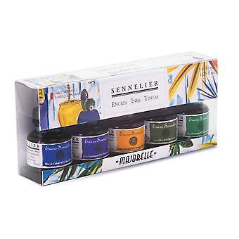 Sennelier Artist Ink Majorelle Colours Set 5 x 30ml