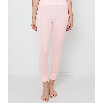 Joe Browns Womens grundläggande termiska leggings i Pointelle sticka