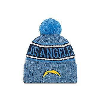 New Era Nfl Los Angeles Chargers 2018 Sideline Reverse Sport Knit