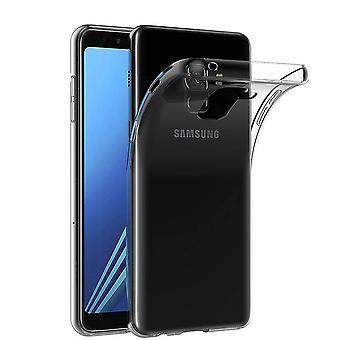 CoolSkin3T voor Samsung J8  2018 Transparant Wit