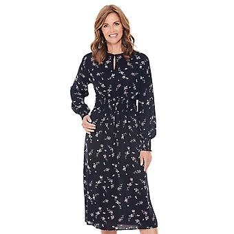 Ladies Womens Smock Dress Viscose