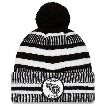 Uusi Era Sideline kotiin musta Bommel hattu Tennessee Titans