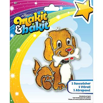 Makit & Bakit Suncatcher Kit Dog with Bone Tb 48943
