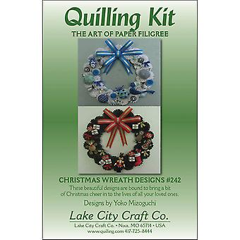 Quilling Kit Christmas Wreaths Q242
