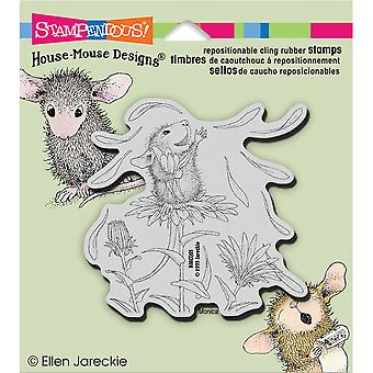 Stampendous House Mouse Cling Stamp She Loves Me Hmcq05