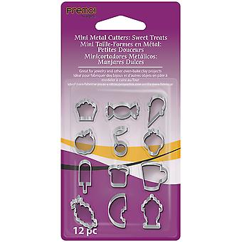 Premo Mini Metal Cutters 12 Pkg Sweet Treats Amm Cmf