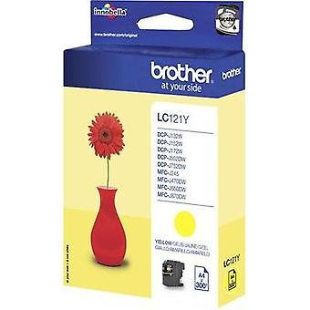 Brother Ink LC-121Y opprinnelige gule LC121Y