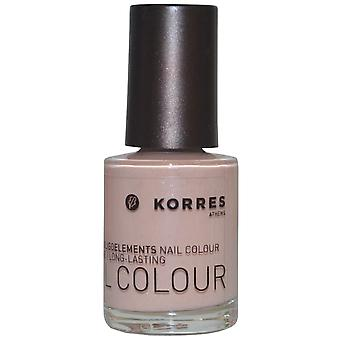 Korres Nail Color hoher Glanz langlebige 10ml Metallic Sand (#33)