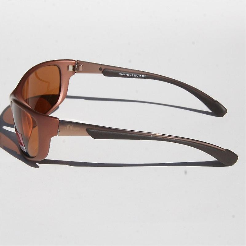 s.Oliver sunglasses 4180 C2 brown mat SO41802