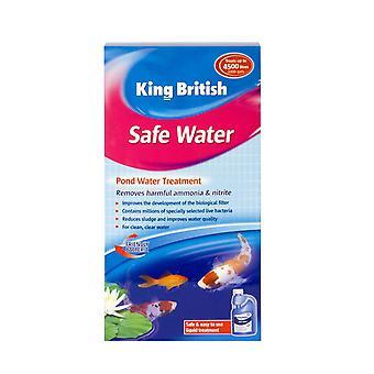 Kongen britiske Dam sikkert vand (filter støtte) 500ml