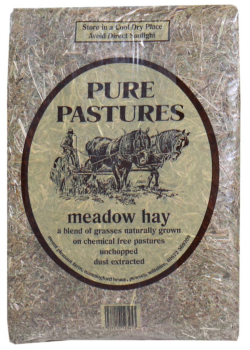 Pure Pastures Meadow Hay 2kg (Pack of 2)