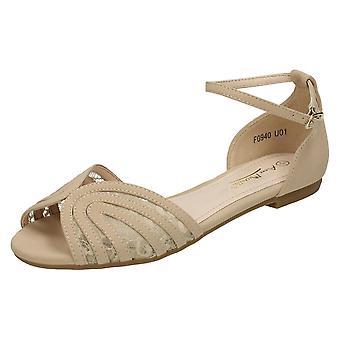 Ladies Anne Michelle Ankle Strap Sandal