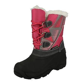 Girls Cutie Faux Fur Snow Boots