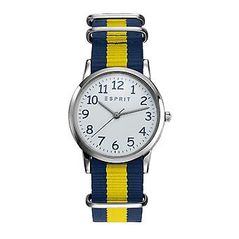 ESPRIT kids watch kids watch TP90648 yellow blue nylon ES906484002