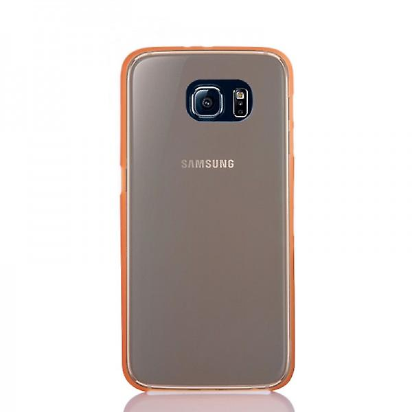 Hard Case Orange 0.3mm Ultra Thin Case for Samsung Galaxy S6 G920 G920F