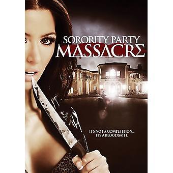 Sorority Party Massacre [DVD] USA import