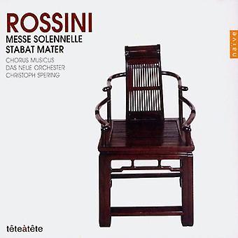 G. Rossini - Rossini: Messe Solennelle; Stabat Mater [CD] USA importerer