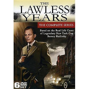 Lovløse år: Hele serien [DVD] USA importerer