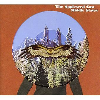 Appleseed Cast - midten stater EP [CD] USA importerer