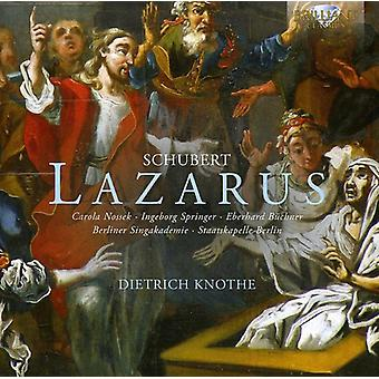 F. Schubert - Schubert: Lazarus [CD] USA import