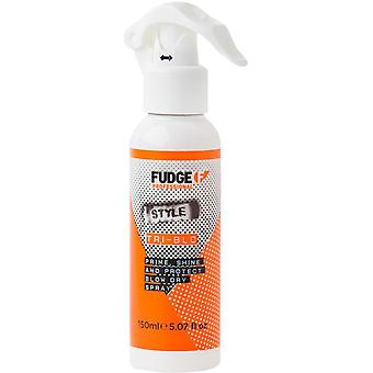 Proteger a Fudge Tri-Blo Prime brillo Spray seco golpe
