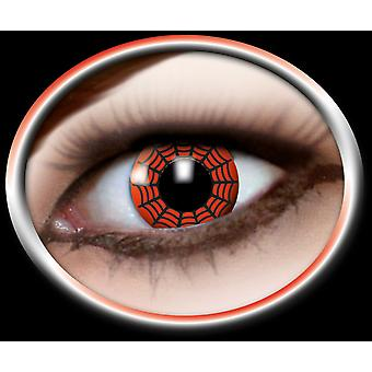 Contact lenses spider 1 pair Carnival Halloween spider