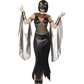 Bastet cat goddess costume Halloween cat costume Egypt women
